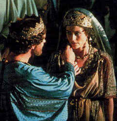 Photo: King Ahasuerus and Esther.